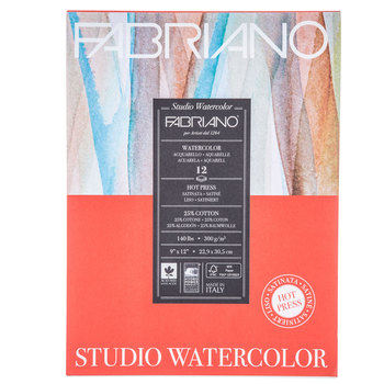 "Studio Watercolor Pad - 9"" x 12"""
